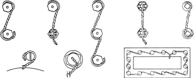 safety wiring methods rh navyaviation tpub com Small Wire Nuts Best Wire Nuts