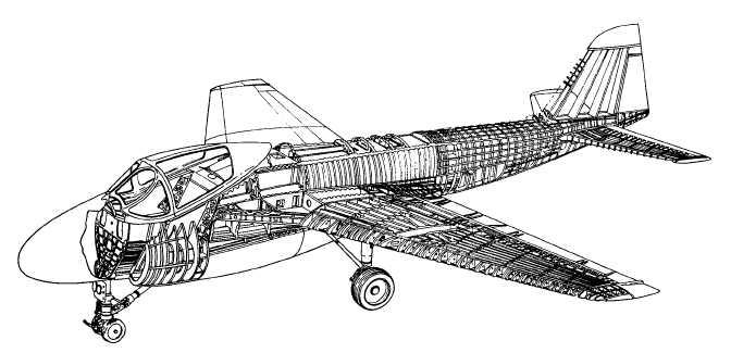 semimonocoque fuselage construction