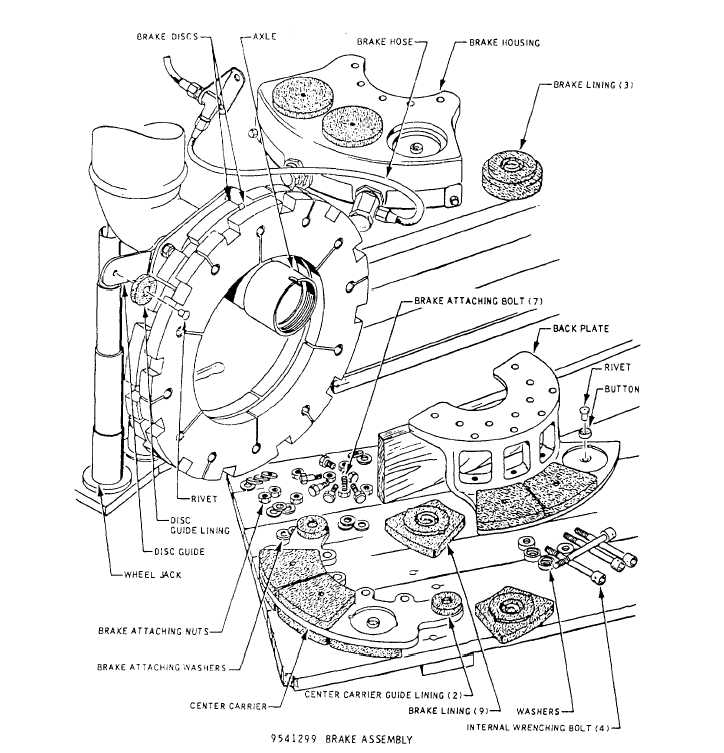 ford f700 hydraulic brake diagram