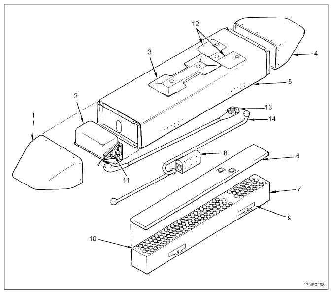 chaff dispensing pod