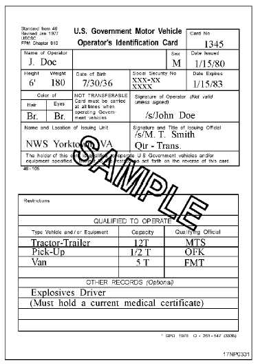 Driver Physical Examination Form - Aktivpet